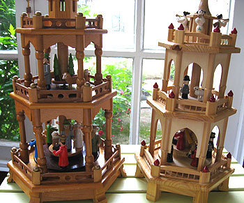 The wonders of German Christmas pyramids | Auction Finds