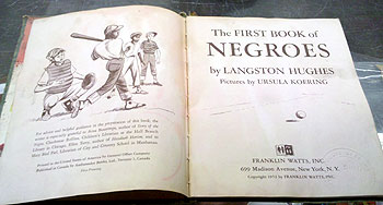 "Langston Hughes' ""First Book of Negroes"""