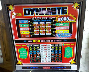 slot machine auctions