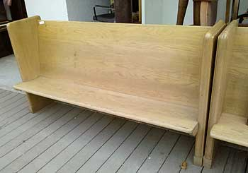 Church Pews Now How Do You Recycle Those Auction Finds