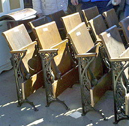 Decorating With Old Theater Seats Auction Finds