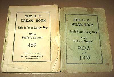 dream book of numbers