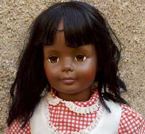 Black Patti Playpal doll.
