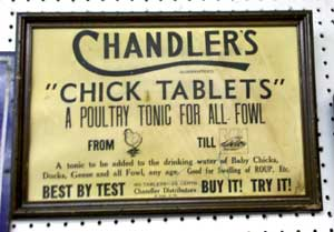 advertising tin signs
