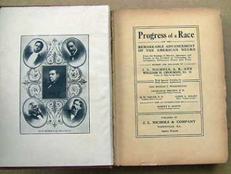 """New Progress of a Race"" black history book"