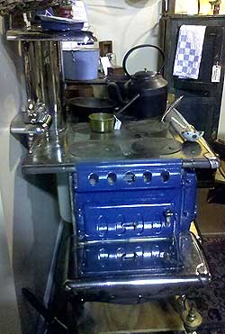 March Brownback Welcome Globe stove