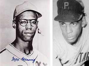 Negro Leagues' Max Manning and Wilmer Harris