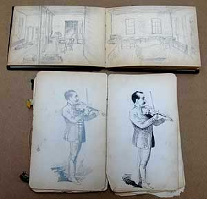 Frank J. Dillon sketchbooks