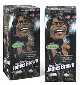 James Brown doll