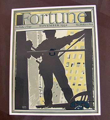 Artsy 1930s Fortune magazine covers | Auction Finds