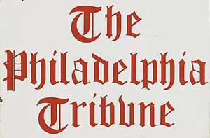 Philadelphia Tribune sign