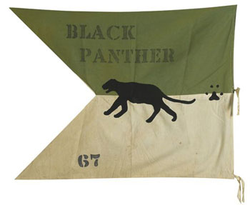 Alabama Black Panther banner