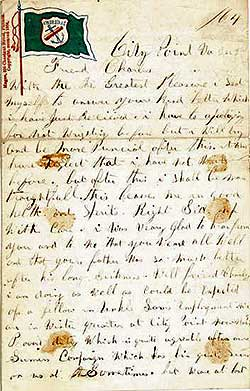 Civil War soldier Morgan W. Carter 1864 letter