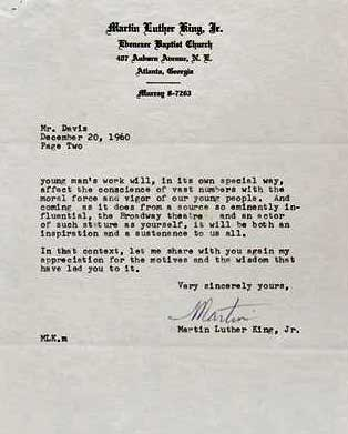 the value of a martin luther king jr signed letter auction finds letter signed by dr martin luther king jr