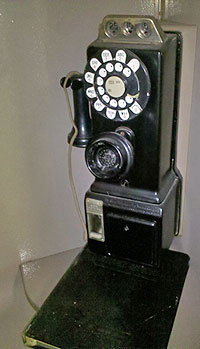 1950s phone booth