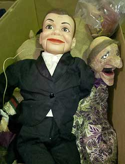 Marionette and puppets.