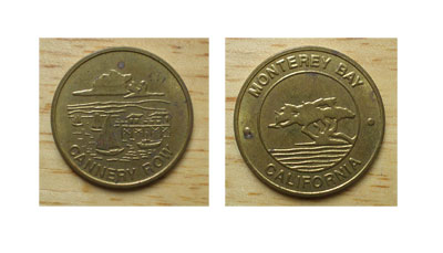 Cannery Row brothel tokens