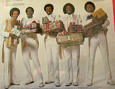 "Falling hard for the Temptations' ""Silent Night"" 