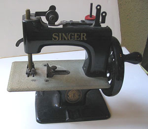 A Singer child's machine