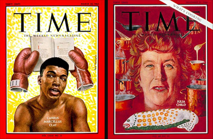 Time magazine covers by Boris Chaliapin
