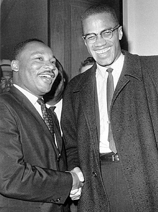 malcolm x and mlk relationship