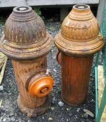 vintage fire hydrants