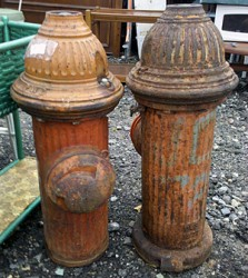 vintage fire hydrant