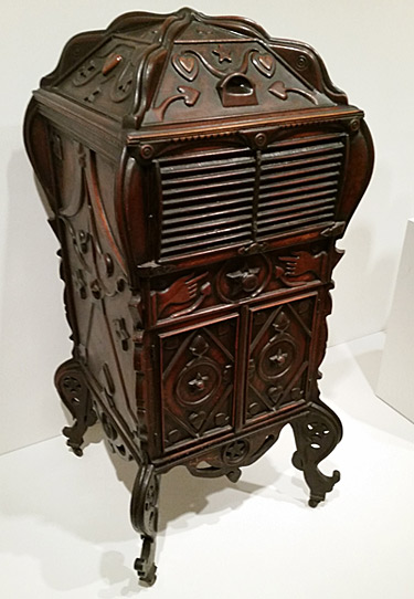 Victrola cabinet carved by African American hands | Auction Finds