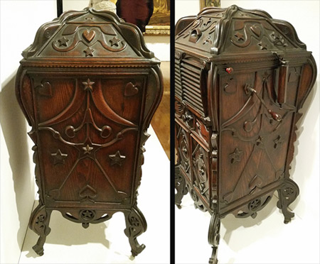 Victrola phonographs - Victrola Cabinet Carved By African American Hands Auction Finds