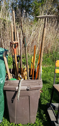Tools for spring planting