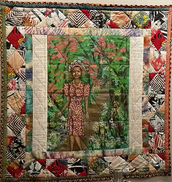 Faith Ringgold's quilt of Maya Angelou sells big at auction ... : quilt life - Adamdwight.com