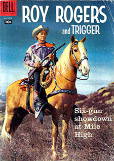 roy rogers and trigger comic book