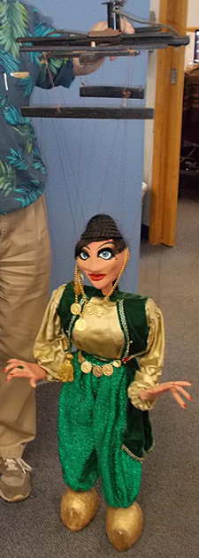 Alan Wassilak's marionettes