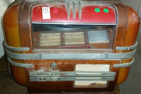 An exciting Wurlitzer countertop jukebox | Auction Finds