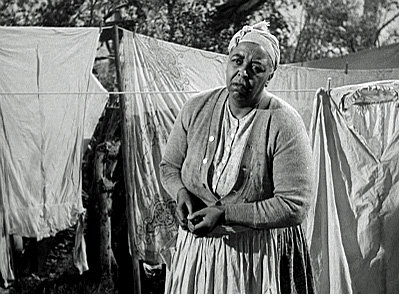 Ethel Waters as washerwoman