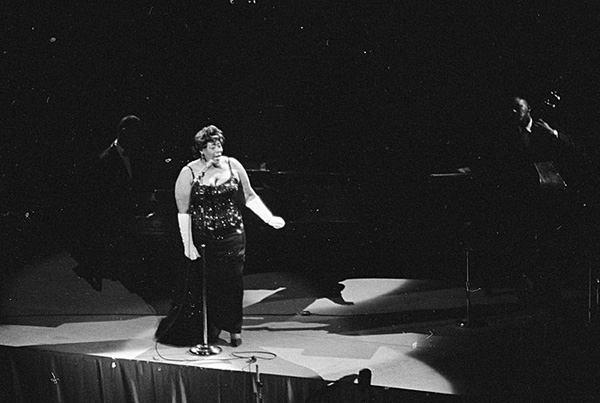 Ella Fitzgerald at kennedy program