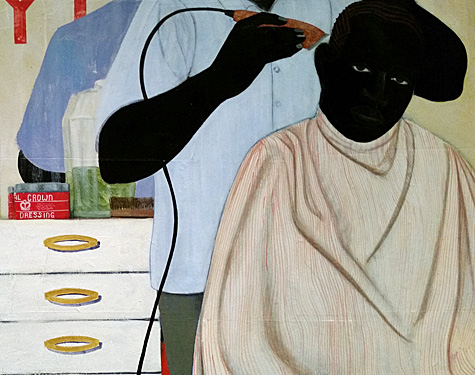 Kerry James Marshall's paintings