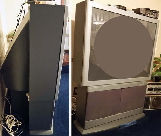 rear-projection TV