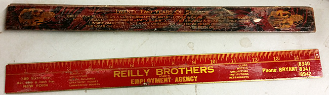 advertising rulers