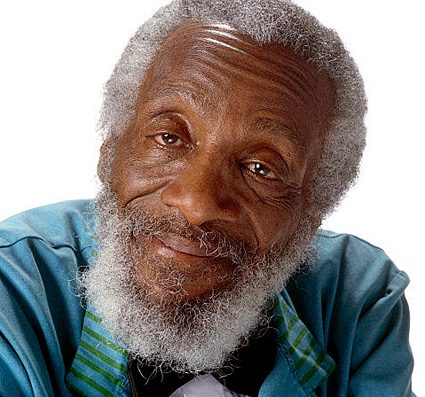 Dick Gregory. Photo from imdb.com.