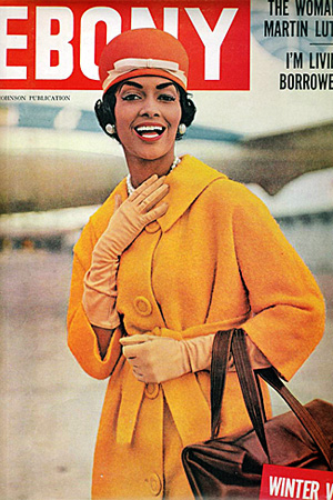 Model Helen Williams on the cover of Ebony, January 1959.