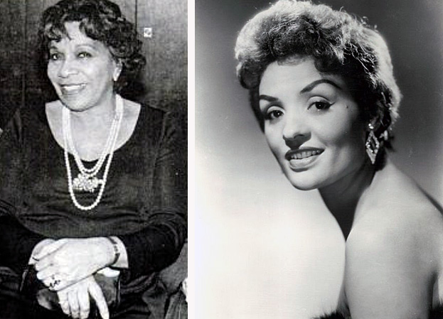 Barbara Watson, left, and Ophelia DeVore.