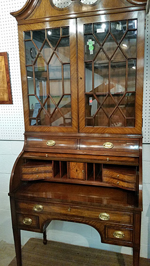 Secretary bookcase/desk that may be Louis XVI design.