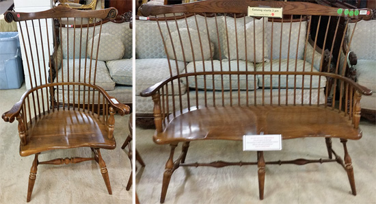 Windsor chair and bench still are a classic buy.