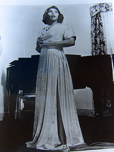 Marian Anderson in an undated photo.
