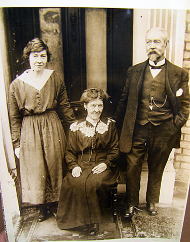 Capt. John Barnes Rugg with his family, 1919.