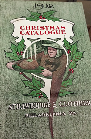 The cover of the Strawbridge & Clothier Christmas catalog, 1902
