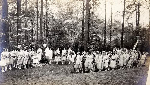 May Day at the Ogontz School, 1926.
