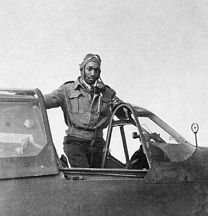 """Lt. Robert W. Deiz, the model for the 1943 """"Keep Us Flying"""" poster. From the National Museum of the U.S. Air Force website."""
